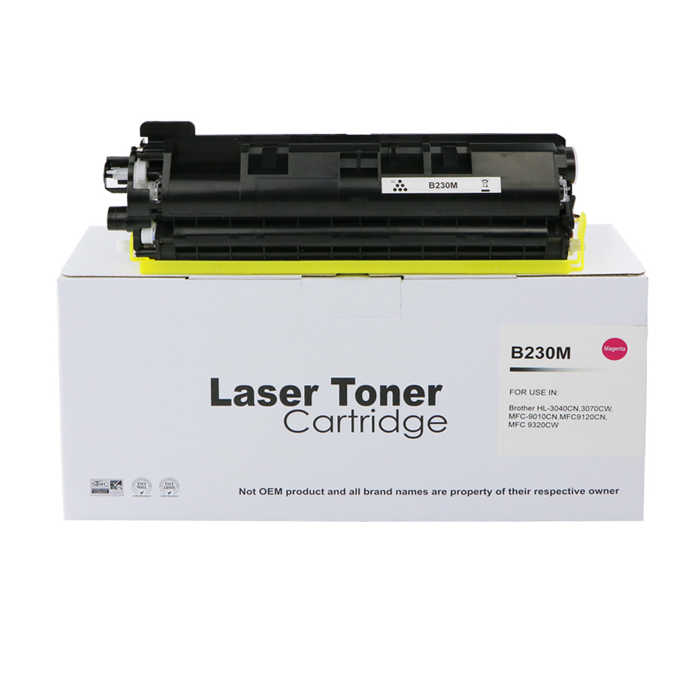 Remanufactured Brother TN230M Magenta Toner Cartridge