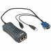 Lantronix SecureLinx Spider KVM switch Black