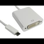 Cables Direct USB3C-DVICAB USB graphics adapter 1920 x 1080 pixels White