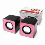 Dynamode 2 Channel USB Powered Speaker - Pink Facia