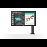 """LG 27QN880 computer monitor 68.6 cm (27"""") 2560 x 1440 pixels Quad HD Black"""
