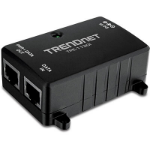 Trendnet TPE-113GI Gigabit Ethernet 48V PoE Adapter & Injector