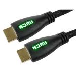 Cables Direct 99HD4-01GN 1m HDMI HDMI Black, Green HDMI cable