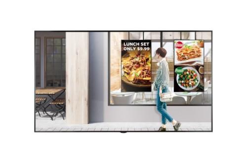 "LG 75XS2E signage display 190.5 cm (75"") LED 4K Ultra HD Digital signage flat panel Black"