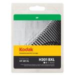 Kodak Remanufactured HP301/CH563EE XL Black Inkjet Ink, 15ml