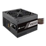 Corsair 550W VS Series V2, VS550, Active PFC, 80 PLUS White Certified Power Supply