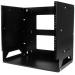 StarTech.com Wall-Mount Server Rack with Built-in Shelf - Solid Steel - 8U