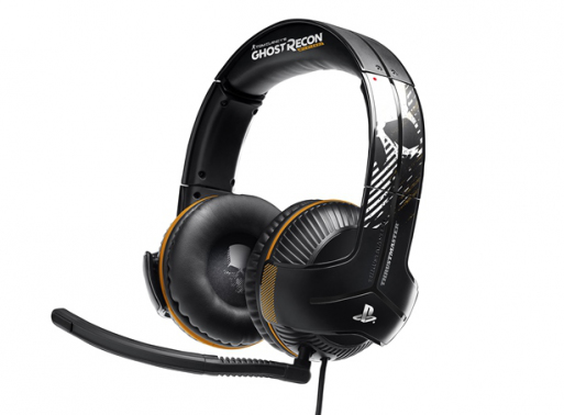 Thrustmaster Y-350P 7.1 Ghost Recon Binaural Head-band Black, Orange headset