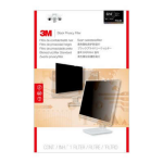 "3M PF220W1B 22"" Monitor Frameless display privacy filter"