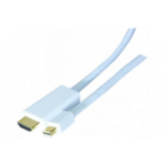 Hypertec 128061-HY video cable adapter 2 m HDMI Type A (Standard) Mini DisplayPort White