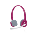 Logitech H150 Binaural Head-band Pink
