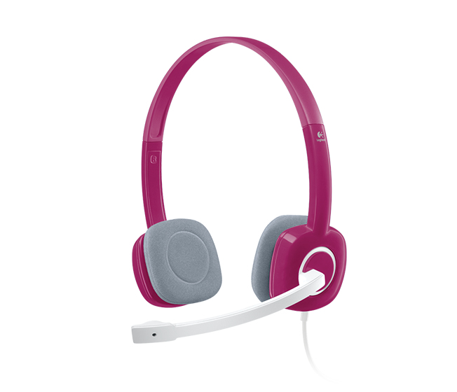 Logitech H150 Binaural Head-band Pink headset