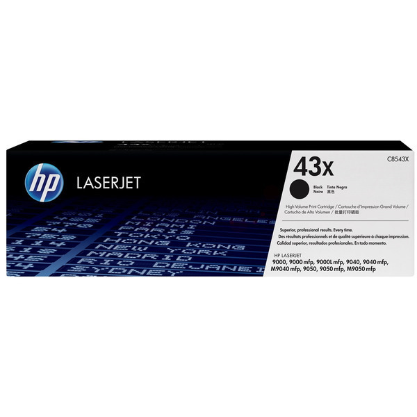 HP C8543X (43X) Toner black, 30K pages