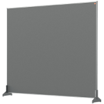 Nobo 1915501 magnetic board Gray
