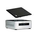 Intel NUC5I5MYHE BGA 1168 2.3GHz i5-5300U Black, Silver PC/workstation barebone
