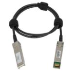 ProLabs CBL-10GSFP-DAC-0.5M-C 0.5m SFP+ SFP+ Black, Aluminium fiber optic cable