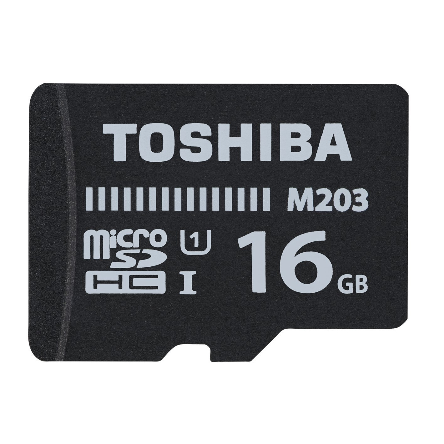 Flash Memory Card High Speed M203 16GB Class 10 Sdhc Uhs-i With Adapter Black