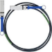 Mellanox Technologies 2m QSFP cable infiniBanc Negro