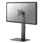 "Newstar Stylish Tilt/Turn/Rotate Desk Stand for 10-27"" Monitor Screen, Height Adjustable - Black"