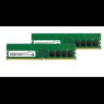 Transcend JetRam DDR4-3200 U-DIMM 8GBx2 Dual Channel