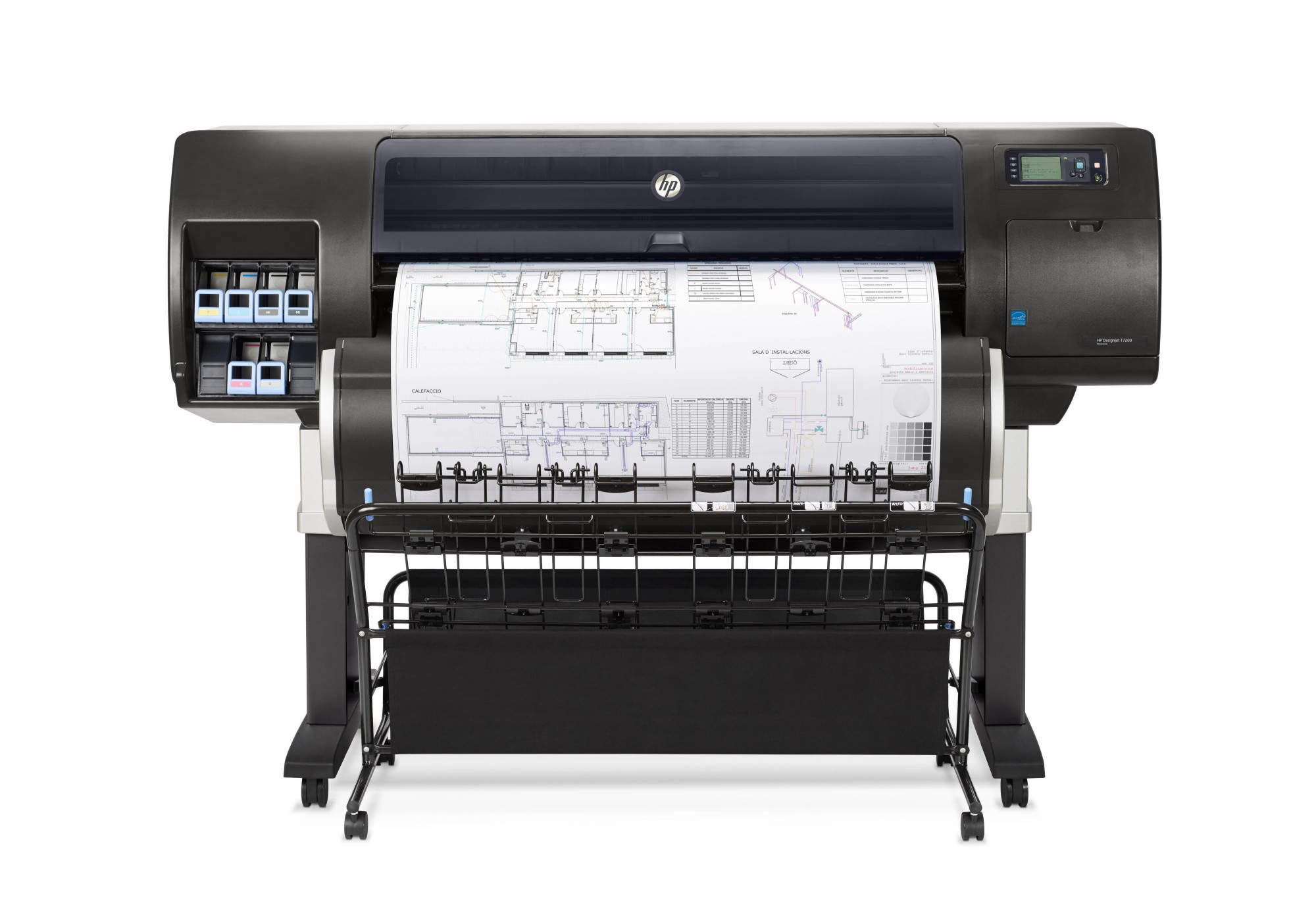 HP Designjet T7200 42-in Ethernet LAN Colour 2400 x 1200DPI Dye-sublimation A1 (594 x 841 mm) large