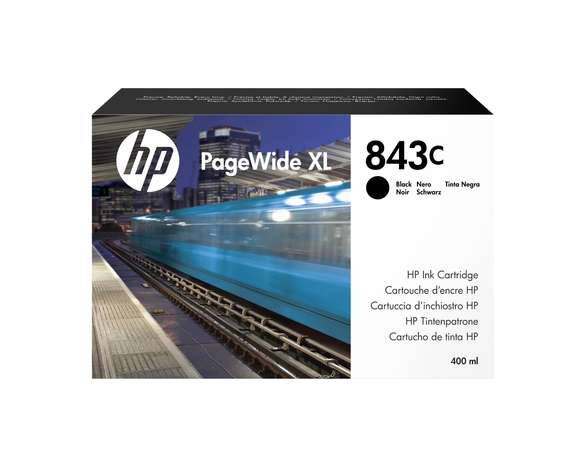 HP 843C Original Negro 1 pieza(s)