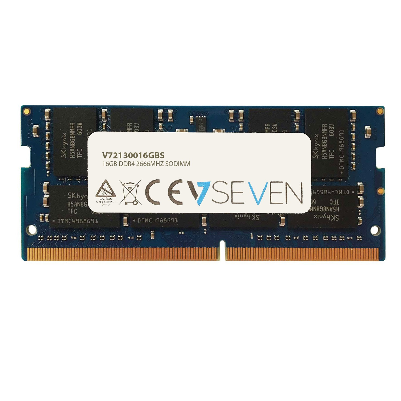 V7 DDR4 PC4-21300 - 2666MHZ 1.2V SO DIMM Módulo de Memoria Portátil - V72130016GBS