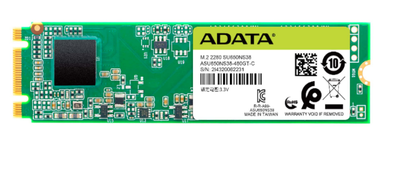 ADATA Ultimate SU650 M.2 480 GB Serial ATA III 3D TLC
