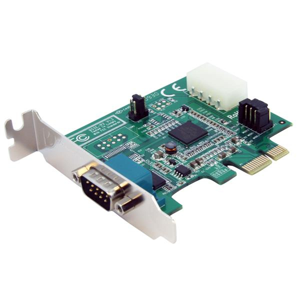 StarTech.com 1 Port Low Profile Native PCI Express Serial Card w/ 16950 interface cards/adapter