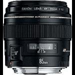 Canon EF 85mm f/1.8 USM Telephoto lens Black