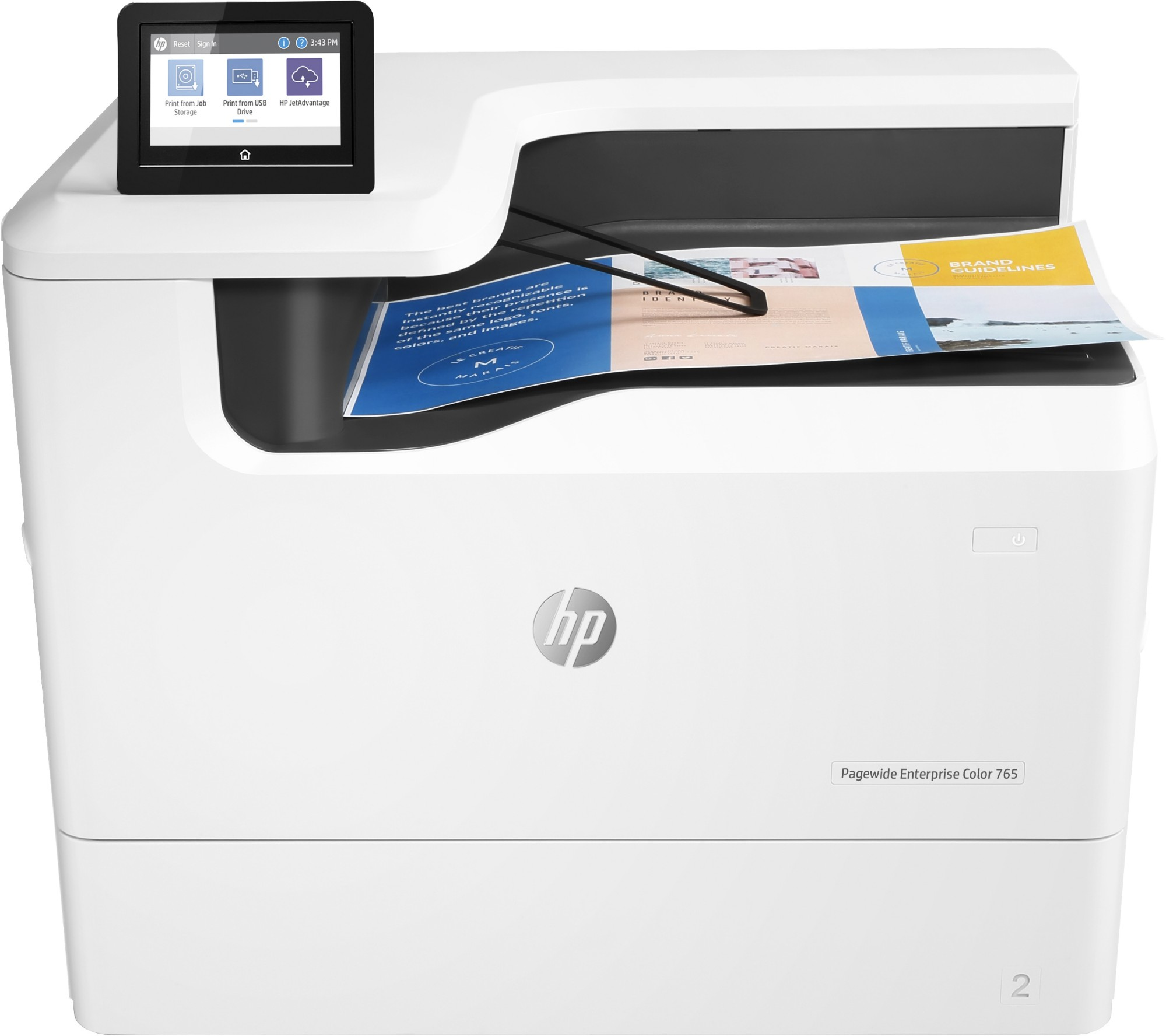 HP PageWide Enterprise Color 765dn Colour 2400 x 1200 DPI A4