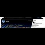 HP W2070A (117A) Toner black, 1000 pages