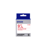 Epson Standard Tape- LK-3WRN Std Red/Wht 9/9