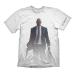 HITMAN Adult Male Agent 47 - The Hitman & Logo T-Shirt, Medium, White (GE1873M)