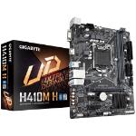 Gigabyte H410M H Micro ATX Motherboard 2xDDR4 10th Gen LGA1200 1xM.2 4xSATA LAN (1000 Mbit/100 Mbit) 1xHDMI 2
