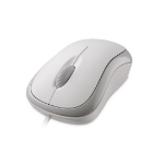 Microsoft Basic Optical Mouse mice USB 800 DPI White