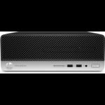 HP ProDesk 400 G6 Intel® 9de generatie Core™ i5 i5-9400 8 GB DDR4-SDRAM 256 GB SSD SFF Zwart PC Windows 10 Pro