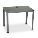 Black Box PC/Utility computer desk Grey