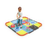 DARPEJE Children's Customisable Mini Croquet Floor Mat Puzzle, Three Years and Above, Unisex, Multi-colour (