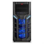 Sharkoon DG7000 Midi-Tower Black,Blue computer case