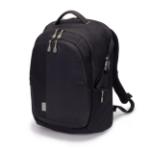Dicota Eco backpack Black Foam, Polyethylene terephthalate (PET)