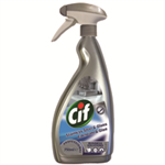 Cif Professional Stainless Steel and Glass Cleaner 750ml Ref 7517938