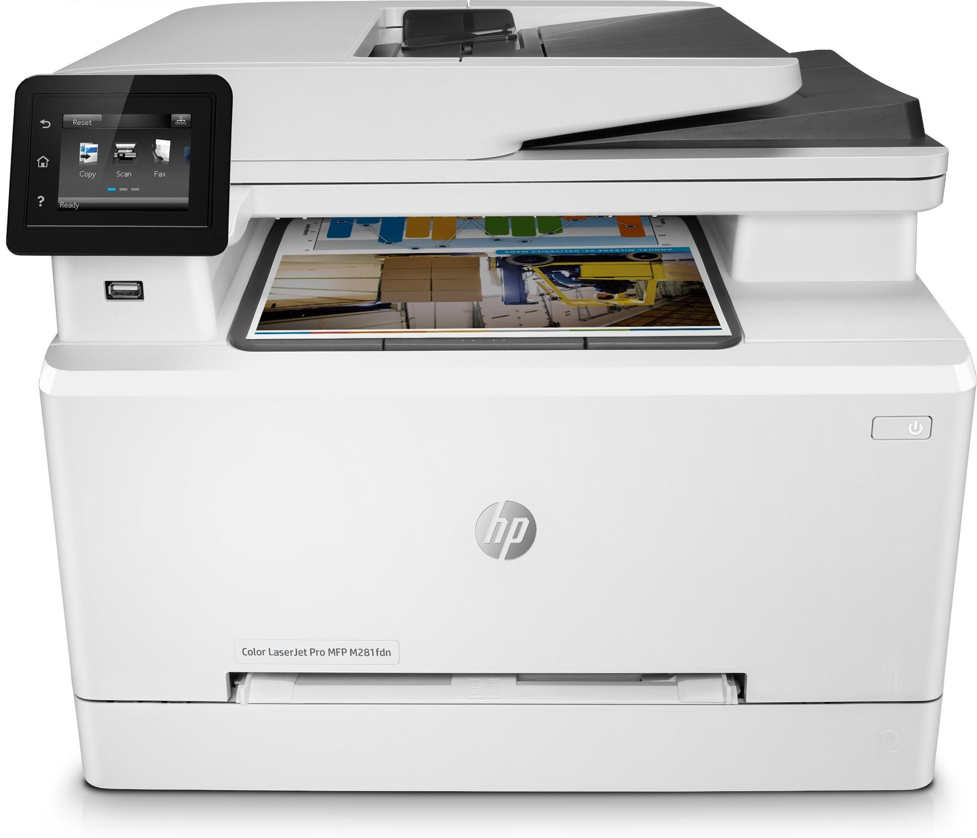 HP LaserJet Pro M281fdn Laser 21 ppm 600 x 600 DPI A4