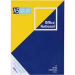 PHE OFFICE NATIONAL LAMINATING POUCHES 100 MICRON A5 PACK 100