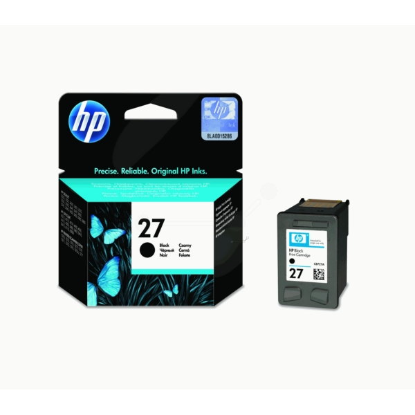 HP C8727AE (27) Printhead black, 280 pages, 10ml