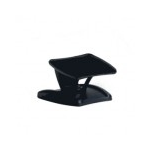 "Datalogic Black 3"" Riser Stand w/ Tilt Adjustment and Fixed Mounting Holes Black"
