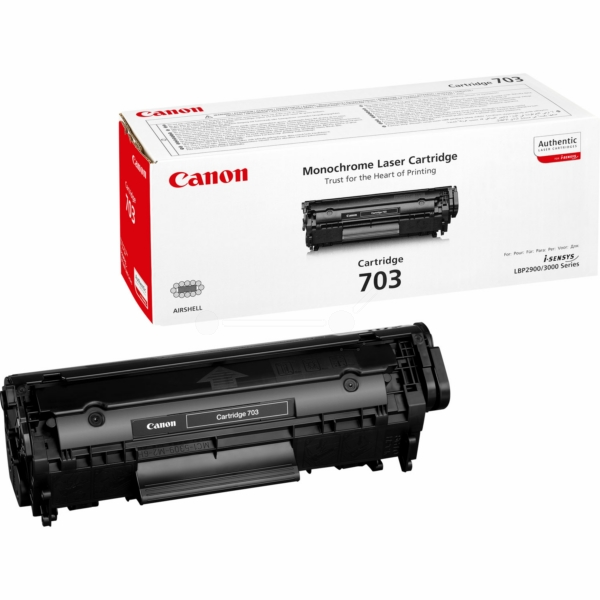 Canon 7616A005 (703) Toner black, 2K pages @ 5% coverage