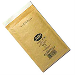 Jiffy Riggikraft Airkraft Bubble Bag Envelopes No.0 Gold 140x195mm Ref JLGO0 [Pack 100]