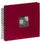 """Hama Spiral Album """"Fine Art"""", burgundy, 26x24/50 photo album Red"""
