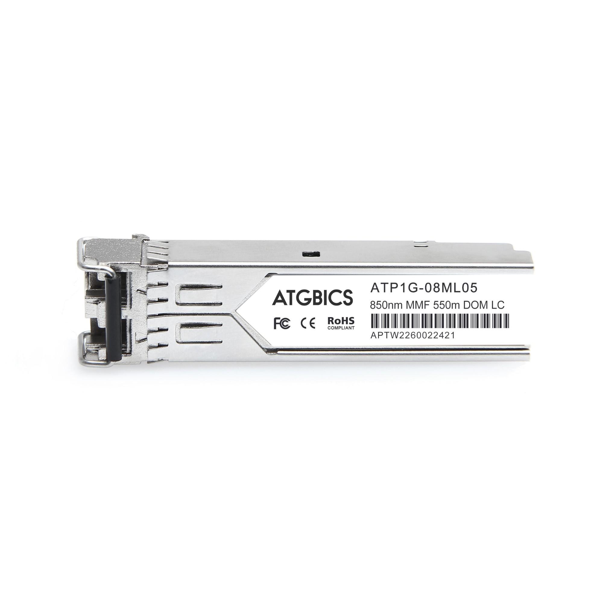 Image of ATGBICS E1MG-SX-OM-8-C network transceiver module Fiber optic 1000 Mbit/s SFP 850 nm